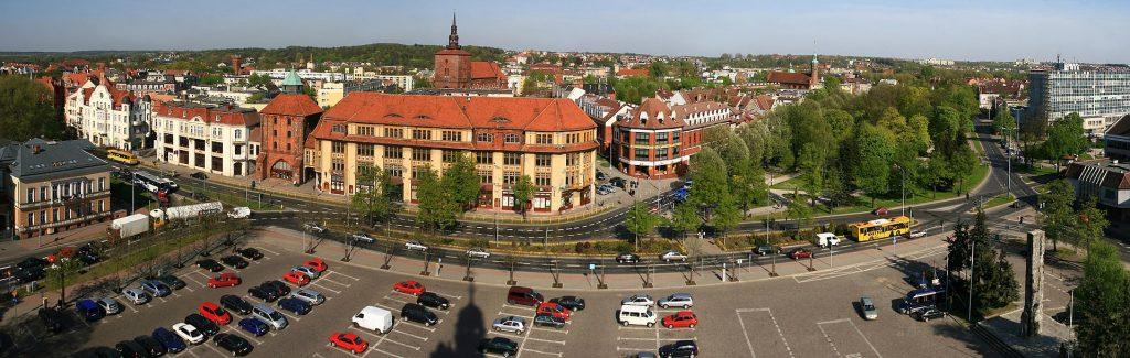 Słupsk - panorama