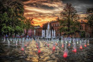 fontanna Lublin